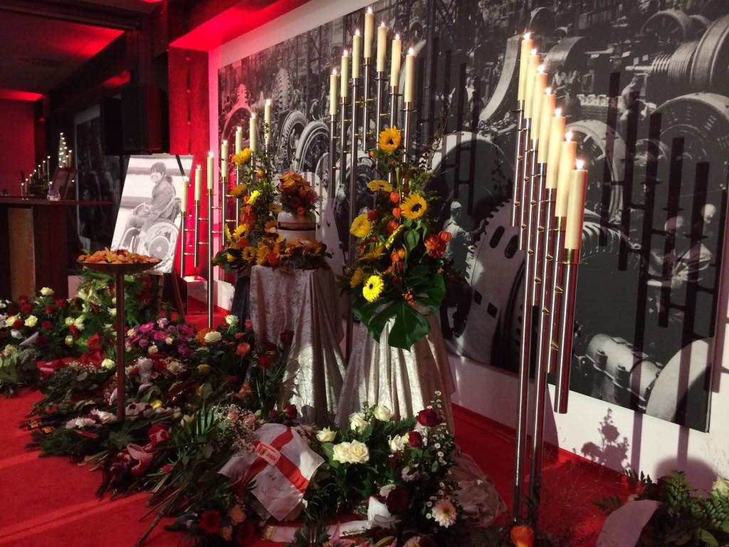 Eiserne Trauerfeier für Janine
